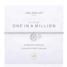 Joma Jewellery a little One In a Million Silver Bracelet 1826