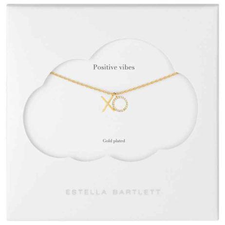 Estella Bartlett Gold Plated XO Necklace