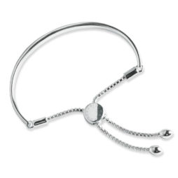 Forever Joma The Halo Sterling Silver Friendship Bangle