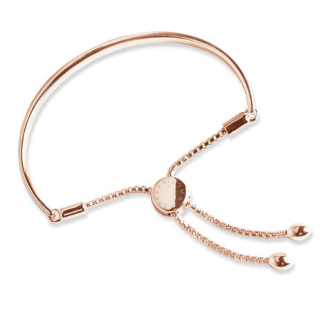 Forever Joma The Halo Rose Gold Friendship Bangle