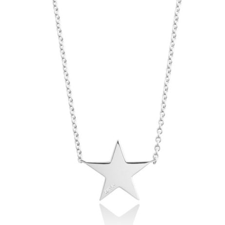 Forever Joma The Line Sterling Silver Star Necklace