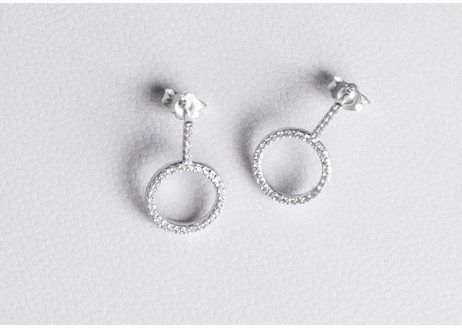Forever Joma The Only Sterling Silver Drop Earrings