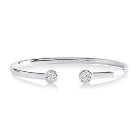 Forever Joma The True Sterling Silver Flexi Oval Bangle