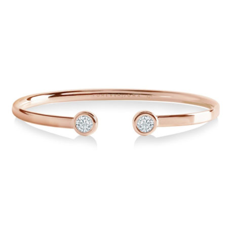 Forever Joma The True Rose Gold Flexi Oval Bangle