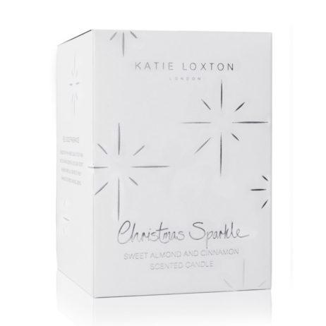 Katie Loxton Christmas Candle Sweet Almond and Cinnamon