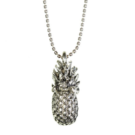 Hultquist Jewellery Silver Pineapple Long Necklace