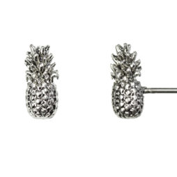 Hultquist Jewellery Silver Pineapple Earrings