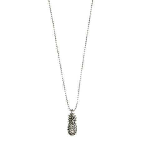 Hultquist Jewellery Silver Pineapple Short Necklace