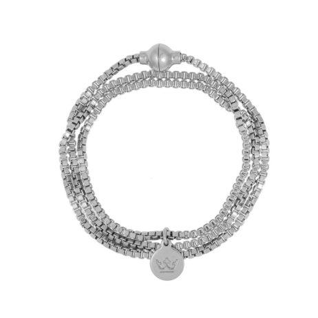 Sence Copenhagen Silver Wrap Seaside Bracelet