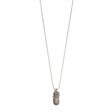 Hultquist Jewellery Rose Gold Pineapple Long Necklace