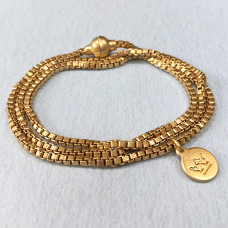 Sence Copenhagen Gold Wrap Seaside Bracelet