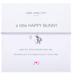 Joma Jewellery a little Happy Bunny Silver Bracelet 1250