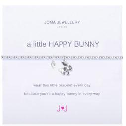 Joma Jewellery a little Happy Bunny Silver Bracelet