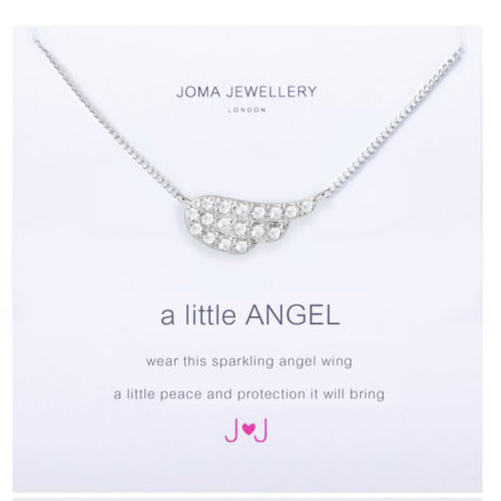 Joma Jewellery a little Angel Silver Necklace 1648