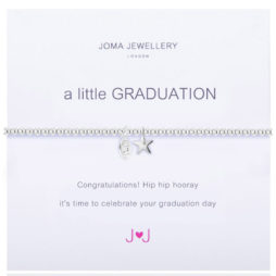 Joma Jewellery a little GRADUATION Silver Bracelet 1658