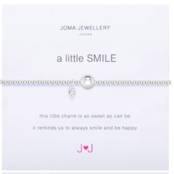 Joma Jewellery a little SMILE Silver Bracelet