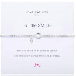 Joma Jewellery a little SMILE Silver Bracelet