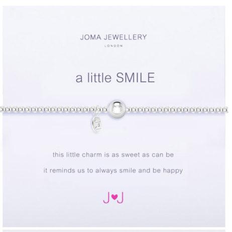 Joma Jewellery a little SMILE Silver Bracelet 1669