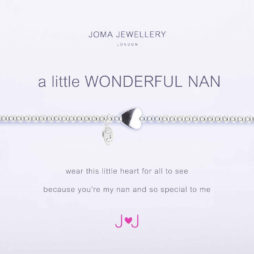 Joma Jewellery a little Wonderful Nan Silver Bracelet