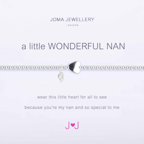 Joma Jewellery a little Wonderful Nan Silver Bracelet 1677