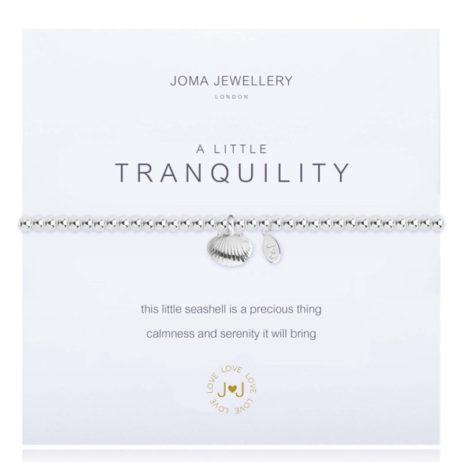 Joma Jewellery a little Tranquility Silver Bracelet 1812