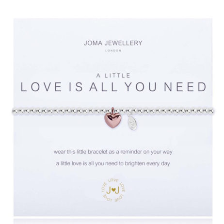 Joma Jewellery A Little Love Is All You Need Bracelet 1813