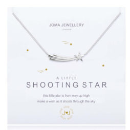 Joma Jewellery a little Shooting Star Silver Necklace 1841