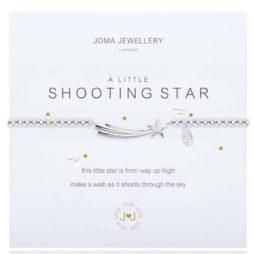 Joma Jewellery a little Shooting Star Silver Bracelet 1842
