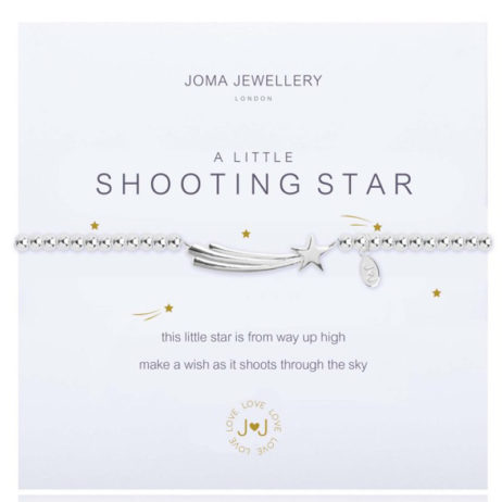 Joma Jewellery a little Shooting Star Silver Bracelet 1842