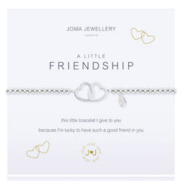 Joma Jewellery a little Friendship Silver Bracelet