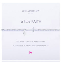 Joma Jewellery a little Faith Silver Bracelet