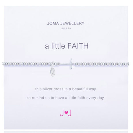 Joma Jewellery a little Faith Silver Bracelet 513