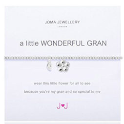 Joma Jewellery a little WONDERFUL GRAN Silver Bracelet 1676
