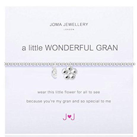 Joma Jewellery a little WONDERFUL GRAN Silver Bracelet 1676