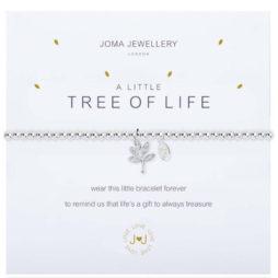 Joma Jewellery a little TREE OFF LIFE Silver Bracelet