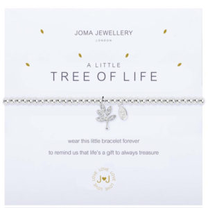 Joma Jewellery a little TREE OFF LIFE Silver Bracelet
