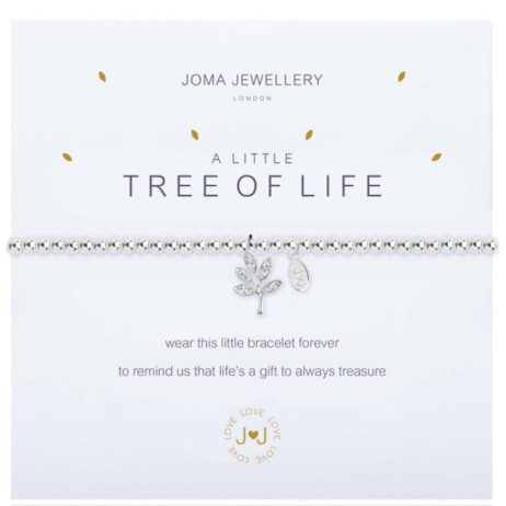 Joma Jewellery a little TREE OF LIFE Silver Bracelet 1830