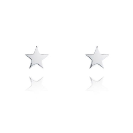 Joma Jewellery SIENA Silver Star Earrings 1968