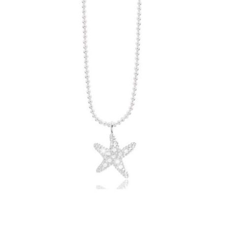 Joma Jewellery SOFIA Silver Starfish Necklace 1979 - EOL
