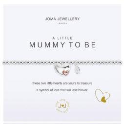 Joma Jewellery a little Mummy To Be Silver Bracelet 2071