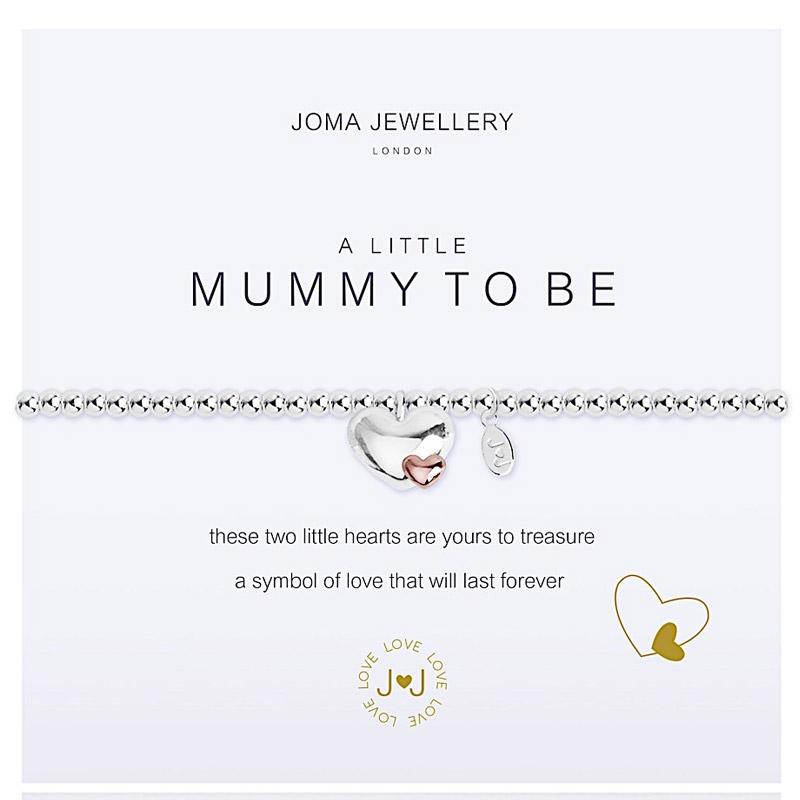Joma Jewellery - A Little Mummy To Be - Rosegold Bracelet akq64