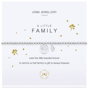 Joma Jewellery a little FAMILY Silver Bracelet