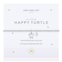 Joma Jewellery a little HAPPY TURTLE Silver Bracelet 2078