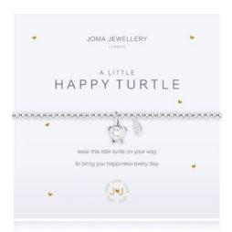 Joma Jewellery a little HAPPY TURTLE Silver Bracelet