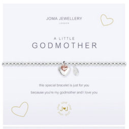 Joma Jewellery a little GODMOTHER Silver Bracelet 2079