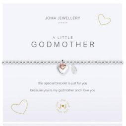 Joma Jewellery a little GODMOTHER Silver Bracelet