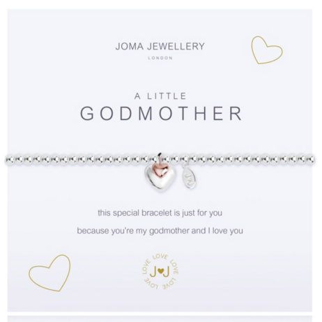 Joma Jewellery a little GODMOTHER Silver Bracelet