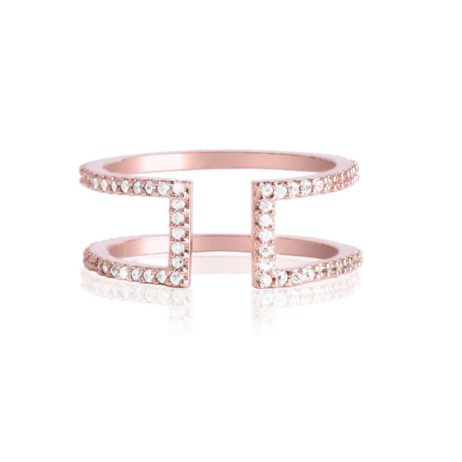 Joma Jewellery Wonder Rose Gold Ring 2088 EOL