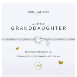 Joma Jewellery a little GRANDDAUGHTER Silver Bracelet 2158