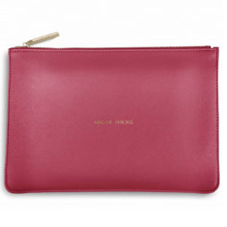 Katie Loxton Bag of Tricks Pouch Deep Pink